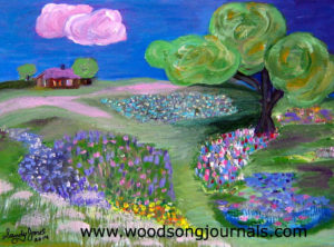 Meadow | Painting by Sandy Jones