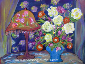 Ojai Blooms | Painting by Sandy Jones